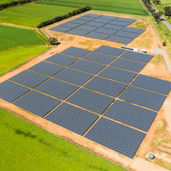 Drone Services - Solar panel inspection