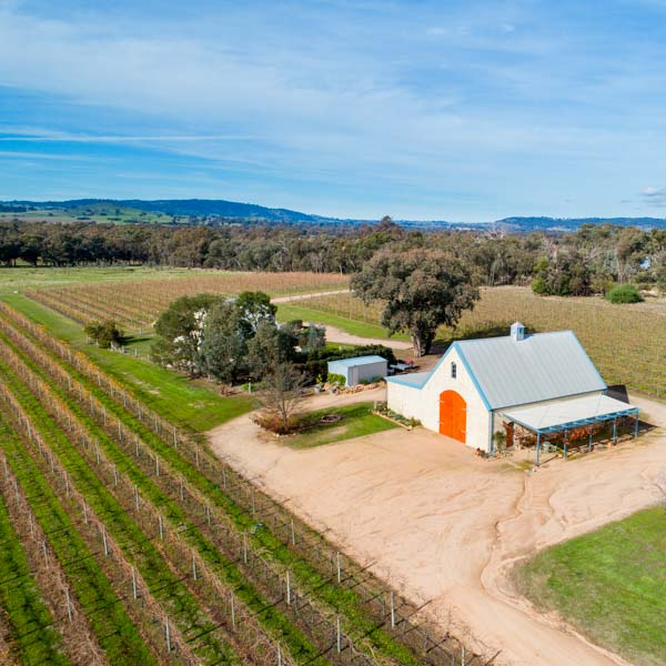 Drone Services - Maygars Hill Winery and Vineyard