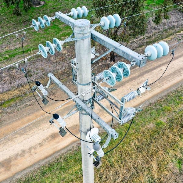 Drone Asset Inspection Services - Powerpoles